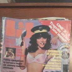 Revistas: LIB 280 - 1982 - GRAN POSTER CHICA BOND - JOHNNY HALLIDAY - U.D LAS PALMAS. Lote 270003193