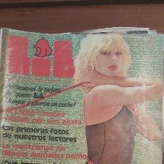 Revistas: LIB 105 PARA ADULTOS, SUGESTIVAMENTE LIBRE. AÑO I, 1978, NÚMERO 105: ESPERANZA TOVAR, SANDRA ALB. Lote 270003558