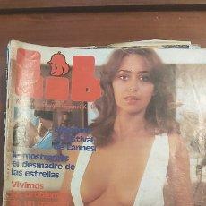 Revistas: REVISTA LIB 86 AÑO 1978. (EROTICA) LENNY LLADA. VIAJAMOS AL FESTIVAL DE CANES.PALMA HACER EL AMOR. Lote 270004068