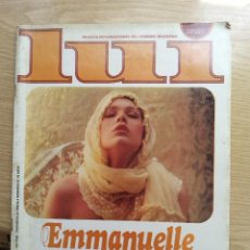 Revistas: REVISTA LUI EMMANUELLE - AÑO 2 - NUMERO 14 - FEBRERO 1978. Lote 270187283