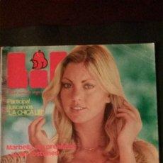 Revistas: LIB 42-GILLIAN DUXBURY-MONTSE SAGUÉS-MARBELLA-ORGULLO GAY-BRIGITTE BARDOT-TOM JONES. Lote 270368328