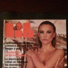 Revistas: LIB 91-NANCY SUITER-MAZINGER Z-BARBARA BOUCHET-VICTORIA VERA-SITGES. Lote 270373843