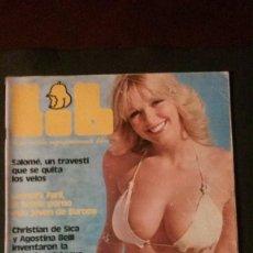 Revistas: LIB 64-AVA CADELL-STAR WARS-CONCHA VELASCO-CANTUDO-NORMA DUVAL-SARA MONTIEL-LEONORA FANI-FORMULA 1. Lote 270379643