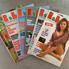 Revistas: LOTE - REVISTAS LIB CABALLERO - REVISTA EROTICA. Lote 294150913