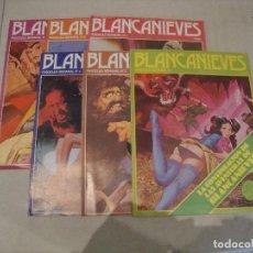 Revistas: LOTE 6 REVISTA FASCICULO BLANCANIEVES EROTICA DEL 1 AL 6. Lote 275347683