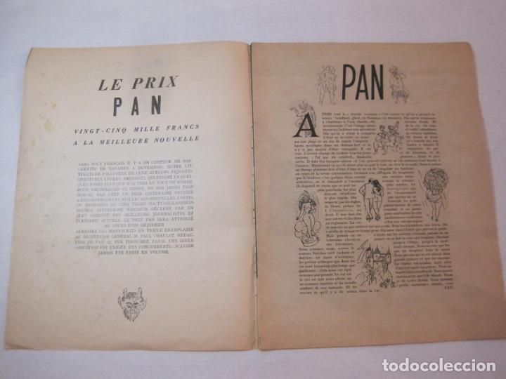 Revistas: PAN-NUMERO 13-REVISTA EROTICA ANTIGUA CON DESNUDOS-VER FOTOS-(V-22.857) - Foto 2 - 275585063