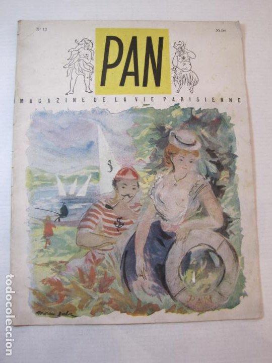PAN-NUMERO 13-REVISTA EROTICA ANTIGUA CON DESNUDOS-VER FOTOS-(V-22.857) (Coleccionismo para Adultos - Revistas)