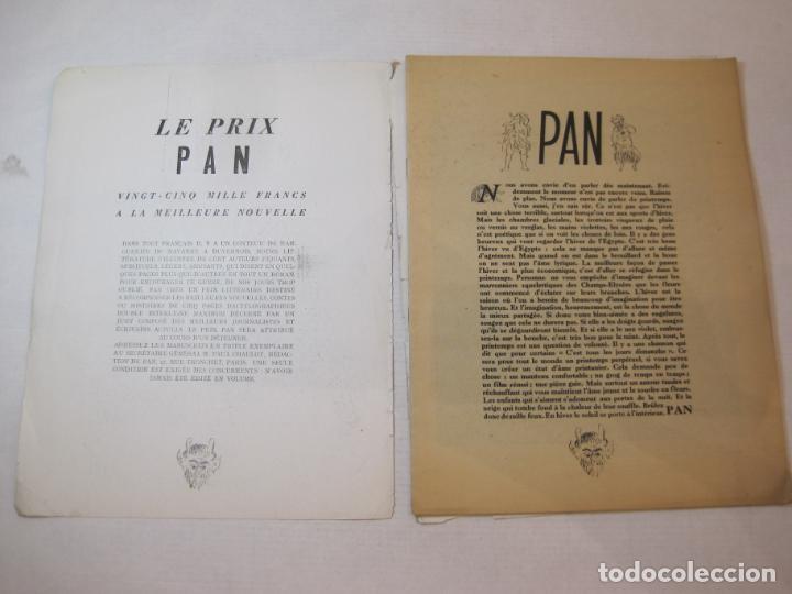 Revistas: PAN-NUMERO 10-REVISTA EROTICA ANTIGUA CON DESNUDOS-VER FOTOS-(V-22.859) - Foto 4 - 275586448