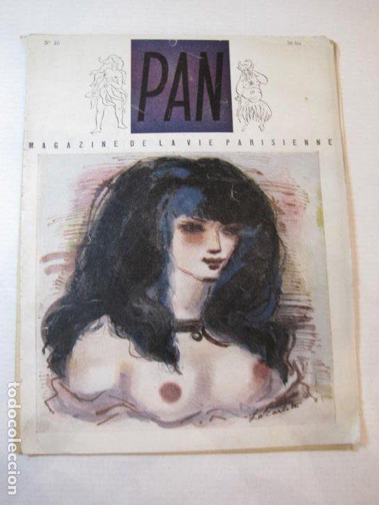 PAN-NUMERO 10-REVISTA EROTICA ANTIGUA CON DESNUDOS-VER FOTOS-(V-22.859) (Coleccionismo para Adultos - Revistas)