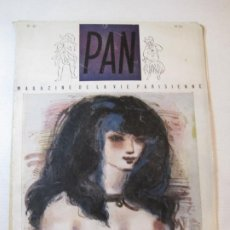 Revistas: PAN-NUMERO 10-REVISTA EROTICA ANTIGUA CON DESNUDOS-VER FOTOS-(V-22.859). Lote 275586448