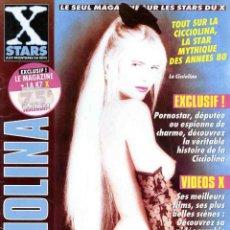 Revistas: X STARS LA CICCIOLINA ILONA STALLER PORN STAR ADULT SEX SPECIAL PORN MAGAZINE REVISTA PARA ADULTOS. Lote 276454633