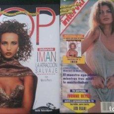 Revistas: IVONNE REYES-IMAN-MELANIE GRIFFITH-SARA MORA-PAULINA PORIZKOVA-MADJA AUERMANN-ISABEL PANTOJA. Lote 276822953