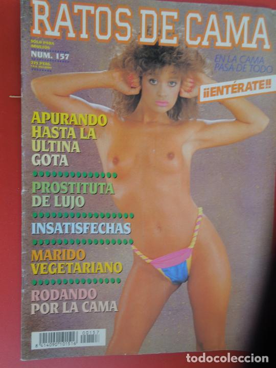 RATOS DE CAMA REVISTA PORNO-EROTICA Nº 157 - APURANDO HASTA LA ULTIMA GOTA (Coleccionismo para Adultos - Revistas)