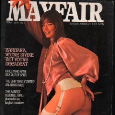 Revistas: MAYFAIR VOL 8I Nº 9 NINA WEST-SADLER, MARENIUS, BARBARA KINGSLAND. Lote 277159643