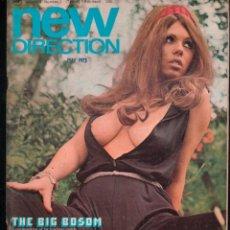 Revistas: NEW DIRECTION VOLUME 3 NUMBER 1. 1973. ADULT VINTAGE MAGAZINE. Lote 277178448