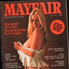 Revistas: MAYFAIR VOL 11 Nº 3. PERCY'S PROGRESS, RACHEL BROOME, MONA PETERSEN. Lote 277179038
