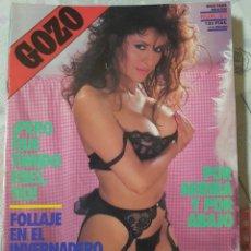Revistas: GOZO Nº 41 DEL AÑO 1990. CONJUNTA RELATOS Y FOTOGRAFÍAS. REPLETA DE FOTOS. 32 PÁGINAS. Lote 277199653