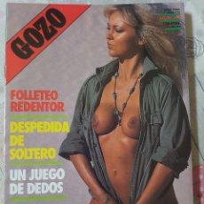 Revistas: GOZO Nº 43 DEL AÑO 1990. CONJUNTA RELATOS Y FOTOGRAFÍAS. REPLETA DE FOTOS. 32 PÁGINAS. Lote 277199948