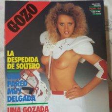 Revistas: GOZO Nº 44 DEL AÑO 1990. CONJUNTA RELATOS Y FOTOGRAFÍAS. REPLETA DE FOTOS. 32 PÁGINAS. Lote 277200043