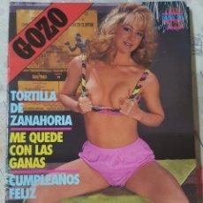 Revistas: GOZO Nº 45 DEL AÑO 1990. CONJUNTA RELATOS Y FOTOGRAFÍAS. REPLETA DE FOTOS. 32 PÁGINAS. Lote 277200113