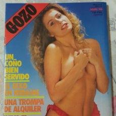 Revistas: GOZO Nº 46 DEL AÑO 1990. CONJUNTA RELATOS Y FOTOGRAFÍAS. REPLETA DE FOTOS. 32 PÁGINAS. Lote 277200178