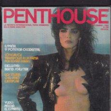 Revistas: PENTHOUSE - Nº 90 / SEPTIEMBRE 1985 - FASHA BRACKEN. Lote 277612848