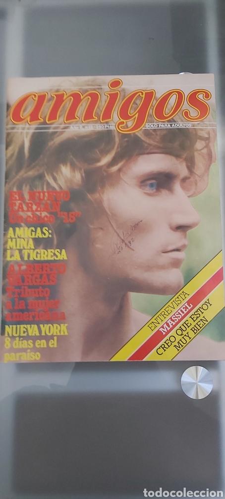 REVISTA AMIGOS N 2 GAY MASSIEL PEP COROMINAS (Coleccionismo para Adultos - Revistas)