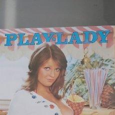 Revistas: REVISTA PLAY LADY VÍCTOR MANUEL NIEVES SALCEDO ERÓTICA AÑOS 70. Lote 279375293