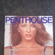 Magazines: PENTHOUSE 44-SIAN ADEY JONES-NANCY SUITER-VICTORIA KNOLL-JEAN ROUGERON-FERNANDO MEGÍAS-ASIMOV. Lote 279412563