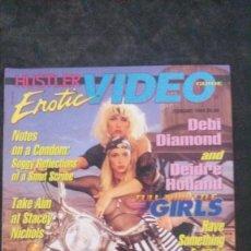 Magazines: HUSTLER EROTIC VIDEO GUIDE-DEIDRE HOLLAND-DEBI DIAMOND-ALICIA RIO-CHASEY LAIN-KIM WILDE. Lote 279438238