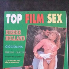 Revistas: TOP FILM SEX Nº 2-DEIDRE HOLLAND-CICCIOLINA-ILONA STALLER. Lote 279560563