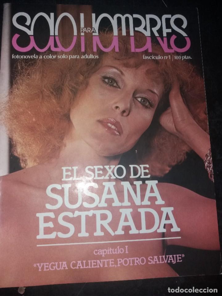 SOLO PARA HOMBRES (SUSANA ESTRADA) NUMERO 1 (Coleccionismo para Adultos - Revistas)