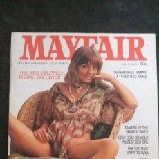Revistas: MAYFAIR-VOL 10 Nº 5-ANNA NOBLE-PENNY IRVING-SUZUKI. Lote 289215753