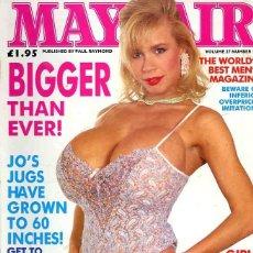 Revistas: MAYFAIR 27-13 TIFFANY TOWERS TABATHA CASH NIKKI DIAL CHARMAINE SYNCLAIR BRITISH UK REVISTA MAGAZINE. Lote 289536108