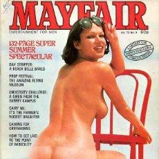 Revistas: MAYFAIR 12-9 BRIGITTE LAHAIE SEX BOOBS BIG TITS TETAS BRITISH UK REVISTA MAGAZINE. Lote 289536373