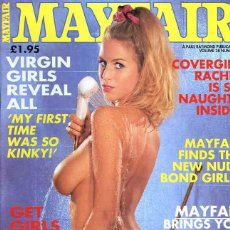 Revistas: MAYFAIR 27-7 ADELE STEPHENS CHLOE VEVRIER JO GUEST CARLA FERNANDEZ BRITISH UK REVISTA MAGAZINE. Lote 289536448