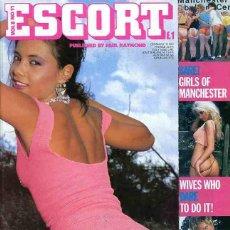 Revistas: ESCORT 8-11 SOLANGE LECARRIO HOOP MEL PENNY SEX MEN ONLY BRITISH UK REVISTA MAGAZINE. Lote 289536713