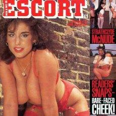 Revistas: ESCORT 8-12 SOLANGE LECARRIO HOOP SARAH YOUNG SEX MEN ONLY BRITISH UK REVISTA MAGAZINE. Lote 289536768