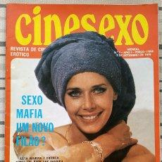 Revistas: REVISTA CINESEXO AÑO 1 Nº 9. Lote 293958113