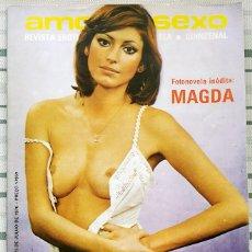 Revistas: REVISTA PORTUGUESA AMOR E SEXO AÑO 1 Nº 22. Lote 293959768