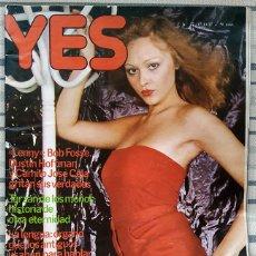 Revistas: REVISTA YES Nº 22 NOVIEMBRE 1.977. Lote 293963388