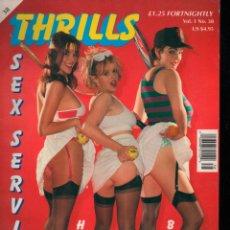 Revistas: THRILLS SEX SERVICE VOL 1 Nº 38 ADULT MAGAZINE. Lote 293975953