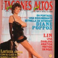 Revistas: TACONES ALTOS Nº 54 DIANE POPPOS. ADULT MAGAZINE. Lote 293976128