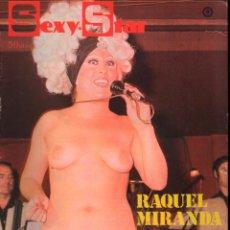 Revistas: SEXY STAR Nº 9 RAQUEL MIRANDA, SCARLAT CLUB, MONICA GREY, LOLITA GARRIDO. Lote 293976253