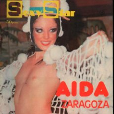 Revistas: SEXY STARNº 10 AIDA ZARAGOZA, BALLET CASINO DE NIZA.. Lote 293976323