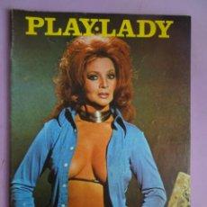 Revistas: PLAY LADY Nº 8, SARA MONTIEL, AGOSTINA BELLI, OVNIS, Mª JOSÉ CANTUDO, 1975,. Lote 294138608