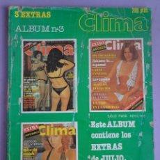 Revistas: ALBUM CLIMA Nº 3, TOMO DE 3 REVISTAS , 1981. Lote 294140703