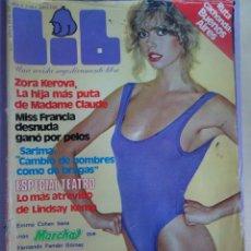 Revistas: LIB Nº 191 , ZORA KEROVA, BRIGITTE LAYAIE, SARIMA, SUPLEMENTO, LINDSAY KEMP. Lote 294148343