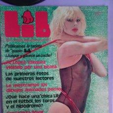 Revistas: LIB Nº 105 , SANDRA ALBERTI, LINDA LAY, ESPERANZA TOVAR, AJITA WILSON. Lote 294153593