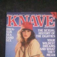 Revistas: KNAVE-VOL 14 Nº 4-1982-ANNA VENTURA. Lote 294162883